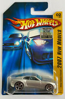 2007 Hotwheels Chevy Camaro Concept V8 Long Card, 1/500 Set Mint! Very Rare!