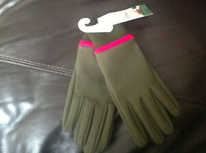 Joules Womens Drysdale Gloves - Grape Leaf- NEW