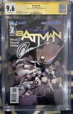 Batman #1 CGC 9.6 New 52 signed by Greg Capullo & Scott Synder - Harper Row