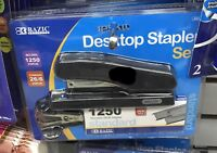 BAZIC Desktop Standard Strip Stapler Set -bonus pack - Assorted Colors