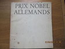 Prix Nobel Allemands 1968