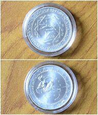 MONETA REPUBBLICA ITALIANA 10 euro 2003 PRESIDENZA UE IN ARGENTO  SUBALPINA