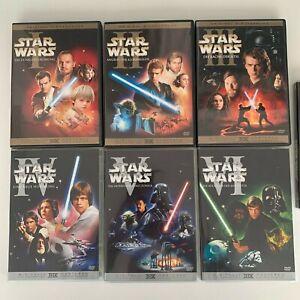 Star Wars: The Complete Saga I-VI / 1-6  DVD (2015) DVD