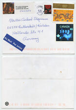 50383 - Kanada - Beleg - 11.12.2000 nach Eisleben