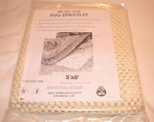 SKID PRUF Non-Slip Antimicrobial Washable Rug Cushion - Rugs Up To 5' x 8' - NEW