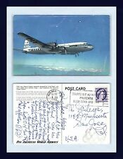 AVIATION PAN AM SUPER 6 POSTED 9 JUNE 1959 TO THE WILEYS OF SAN JOSE CALIFORNIA