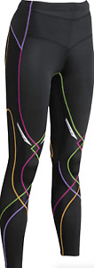 CW-X Black Mid Rise Full Length Compression Legging Women's Size XS 16426
