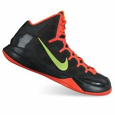 Nike Basketball Sneakers Without a Doubt Black/Volt/Crimson Mens Size 10