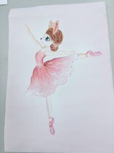 Nortdic canvas Painting for Childs room / Nursery  Ballet Dancer