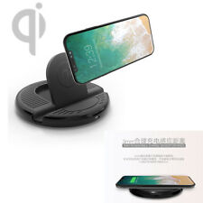 Car Wireless Fast Cellphone Charging Stand QI Charger Mount With Micro USB Cable