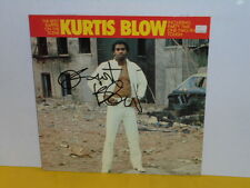 LP - KURTIS BLOW - THE BEST RAPPER ON THE SCENE - SIGNIERT