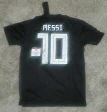 NEW Lionel Leo Messi Signed Custom Argentina Soccer Jersey Autographed COA