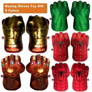 Marvel Super hero Spiderman Cosplay Gloves Punching Boxing Fists Toys Kids Gift