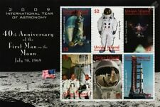 NASA APOLLO XI Moon Landing 40th Anniversary Space Stamp Sheet 2009 Union Island