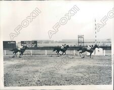 1944 Jamaica Race Track Leaving Beats Miss Drummond in Rose Dor Press Photo