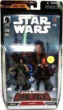 Star Wars Comic Packs 2006 Quinlan Vos & Vilmarh Grahrk Action Figure 2-Pack