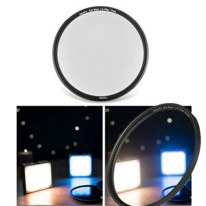 Black Pro Mist 1/4 1/8 Soft Focus Diffuser Lens Filter Protector as Black Magic