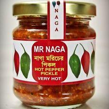 Mr Naga Chilli Pickle - Hot Naga (Chilli) Pickle In The Market 190g