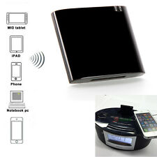 Bluetooth 4.1 APTX Stereo Music Audio Receiver Adapter For iPhone 30Pin Speaker