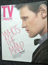 THE SUN TV MAGAZINE 18 MAY 2013 . MATT SMITH DOCTOR WHO FRONT COVER . TV GUIDE