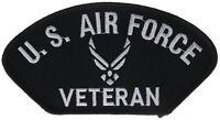 US Air Force USAF Veteran Vet Iron on Hat Patch FLB1631 F1D11J