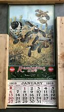 1918 Remington Reproduction Calendar. Matches 2019.