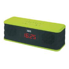 SEG BLUSOUND 1314 Grün Portable Soundbox Bluetooth-Lautsprecher Radio Wecker