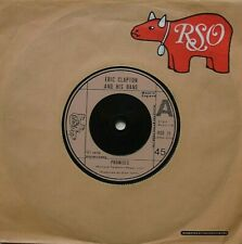 ERIC CLAPTON, PROMISES / WATCH OUT FOR LUCY, N/MINT RSO 7INCH 45RPM