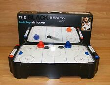 "The Black Series By Shift 20"" (inch) Table Top Air Hockey Game With Box **READ**"
