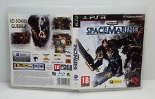 SPACE MARINE WARHAMMER 40.000 - PS3 - PlayStation 3 - PAL - Italiano - Usato