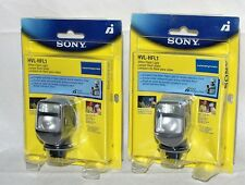 ONE  Genuine Sony HVL HFL1 Shoe Mount Flash for  Sony NEW Seales