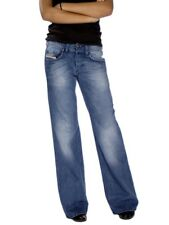 New Diesel Vixy 008lb Womens Fit Flare Bootcut Jeans 25 32L RRP £140