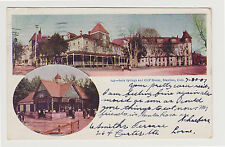 1907 UDB Soda Springs and Cliff House, Manitou CO Colorado