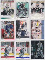 Jean-Sebastien Giguere J.S. - You Pick - Inserts Parallels Numbered See Scans
