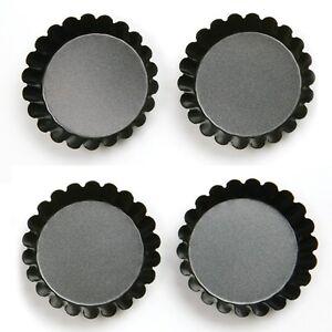 NONSTICK TARTLET PANS, SET OF 4~~