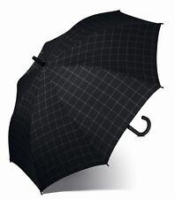 Esprit Parapluie Gents Long AC Check Black