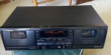 Pioneer CT-W604RS Double Cassette Deck Stereo
