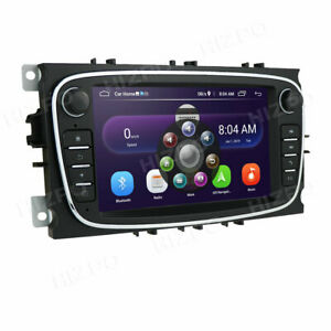 2 Din Android 10 Car Radio GPS for Ford Focus Mondeo S-Max C-Max Galaxy II Kuga