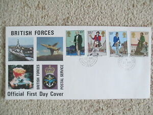 1979 ROWLAND HILL FORCES OFFICIAL COVER, FIELD POST OFFICE 318 CDS CANCEL