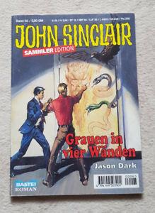 """John Sinclair Sammler Edition Nr. 65 """"Grauen in 4 Wänden"""" Ersatzroman - Z 1"""