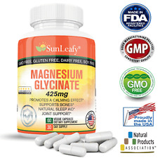 Magnesium Glycinate 400 MG High Absorption Bone Support, Joints health