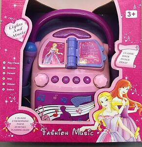 Kids Princess 22 Music Player Toy With & 2 Microphone *great gift idea* (6928)