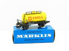 MARKLIN WAGON CITERNE JAUNE SHELL REF. 4502 - ECHELLE H0 1/87  #2
