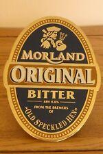 Moorland Original Bitter Metal Beer Tap Sign