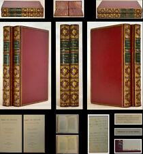 1885 Pr  MARIUS THE EPICUREAN FINE GILDED FULL RED LEATHER History Religion