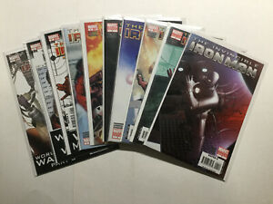Invincible Iron Man 1-19 Lot Run Set Very Fine/Near Mint Vf/Nm 9.0 Marvel