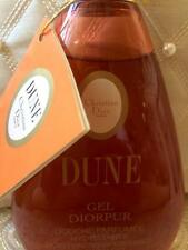 100%AUTHENTIC MOST RARE DIOR DUNE VINTAGE PERFUMED BATH&SHOWER GEL DISCONTINUED