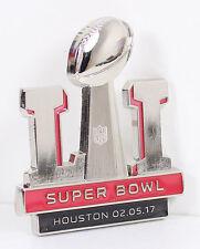 Superbowl LI 51 Super Bowl 3D Logo Pin New England Patriots Atlanta Falcons