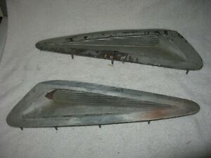 Mopar 1973-74 Plymouth Road Runner GTX Hood Scoops and Inserts