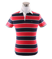 Tommy Hilfiger Men's Short Sleeve Classic Fit Striped Polo Shirt - $0 Free Ship